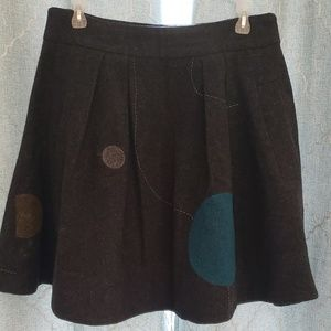 Lithe Gray dotted skirt
